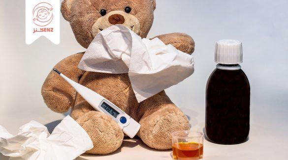 تخفيف أعراض الزكام على الطفل