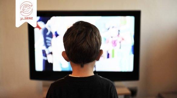مخاطر التلفاز على الطفل
