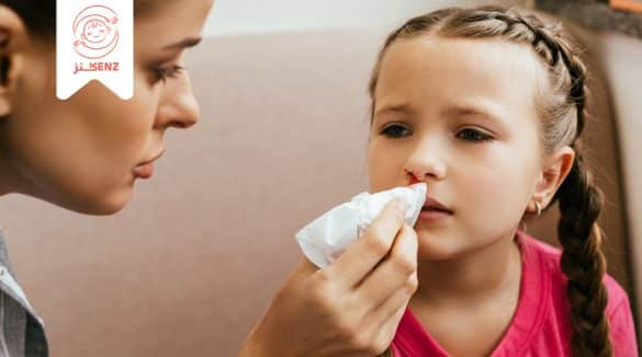 رعاف أنف الأطفال