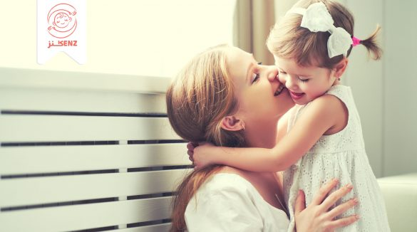 تقبيل الأطفال